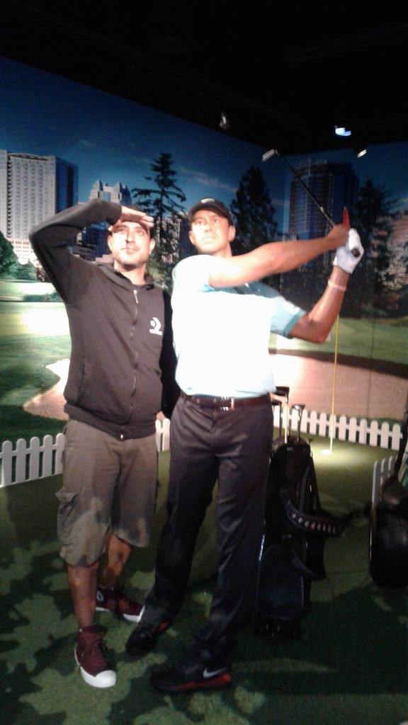 Museo de Cera Madame Tussauds Orlando - Tiger Woods
