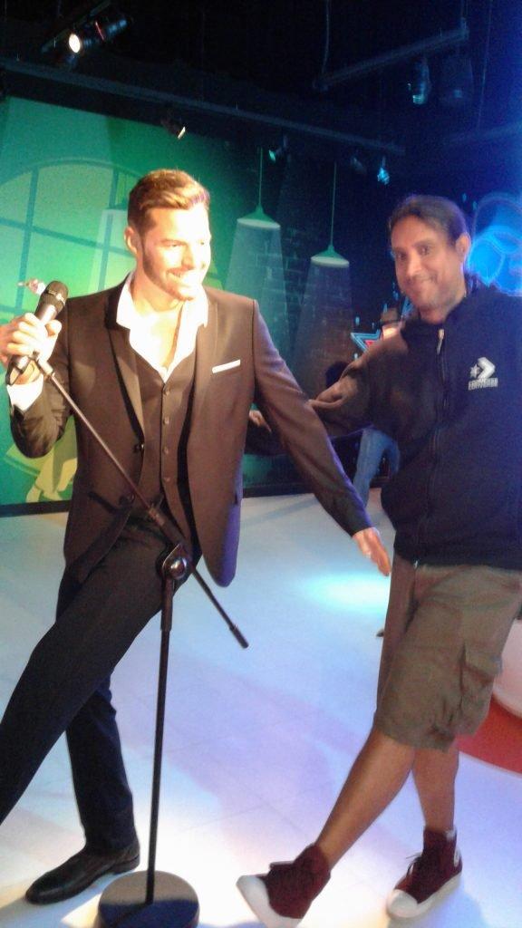 Museo de Cera Madame Tussauds Orlando - Ricky Martin