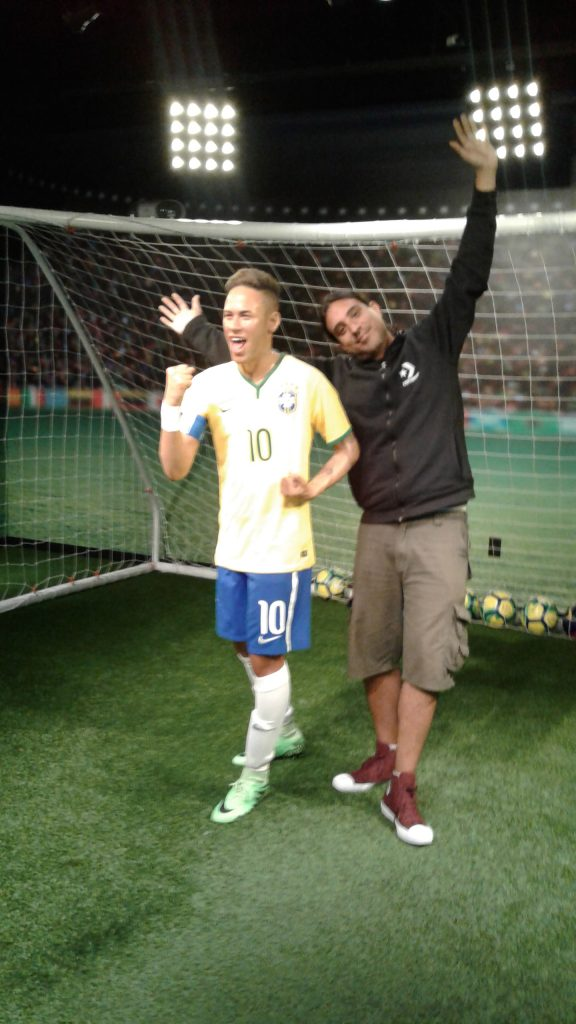 Museo de Cera Madame Tussauds Orlando - Neymar