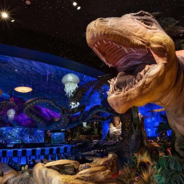T-Rex en Disney Springs