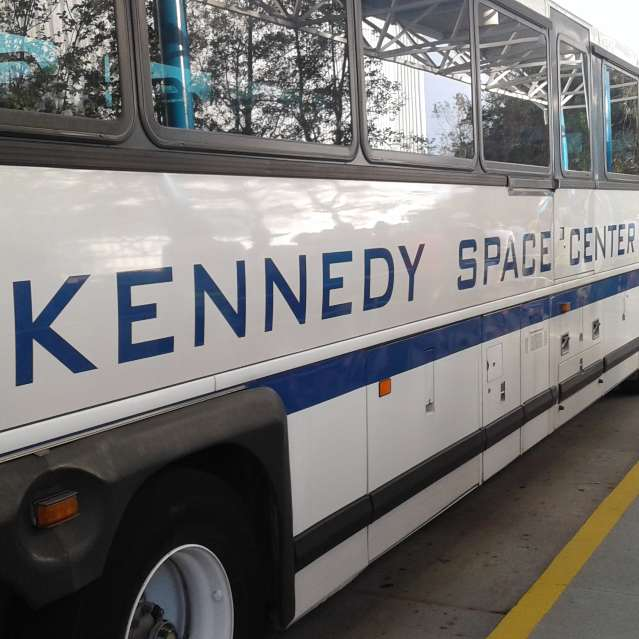 Nasa Kennedy Space Center Bus