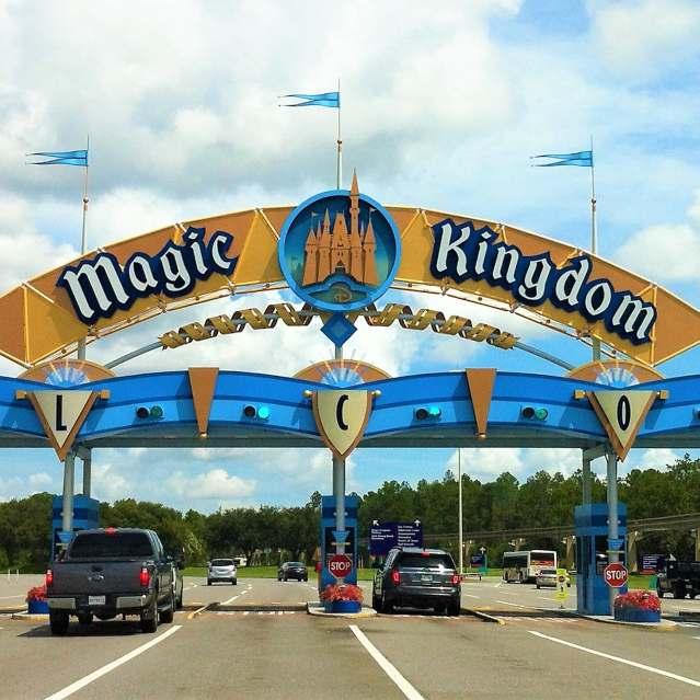 Magic Kingdom - Entrada Vehicular