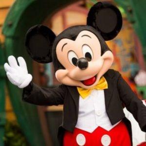 Mickley Mouse en Disney World