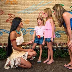 Pocahontas en Disney World