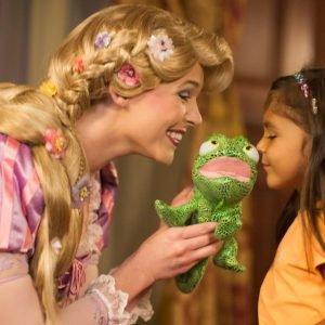 Rapunzel en Disney World
