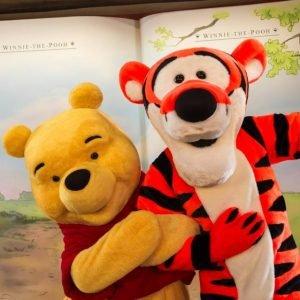 Winnie The Pooh en Disney World